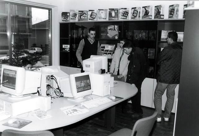 Inaugurazione Fassi Computer, marzo 1998