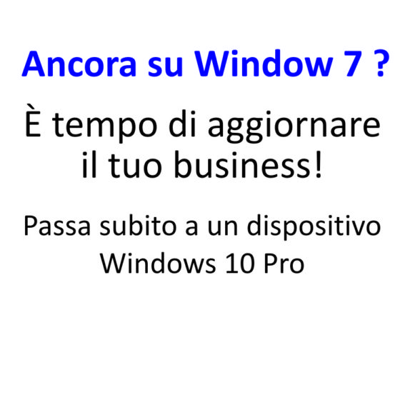 ANCORA SU WINDOWS 7 ?